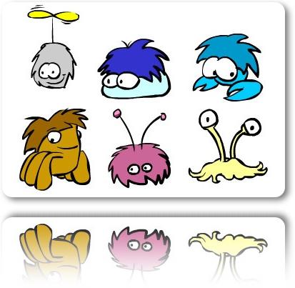 puffles-evolution